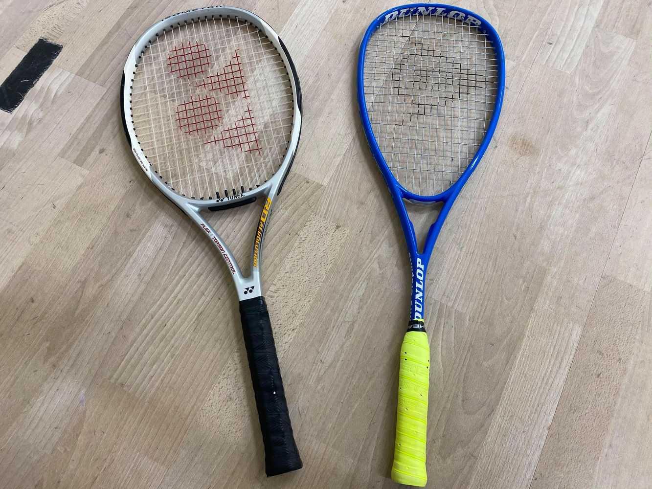 Squashrack och Tennisrack