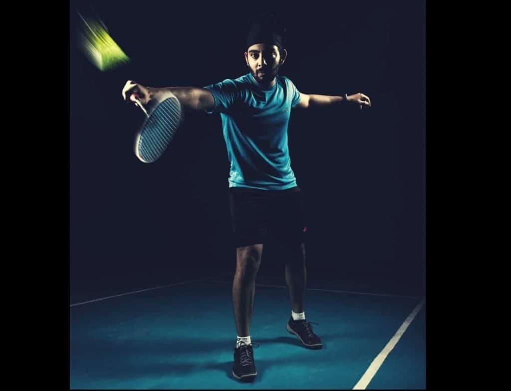 Badmintonspelare