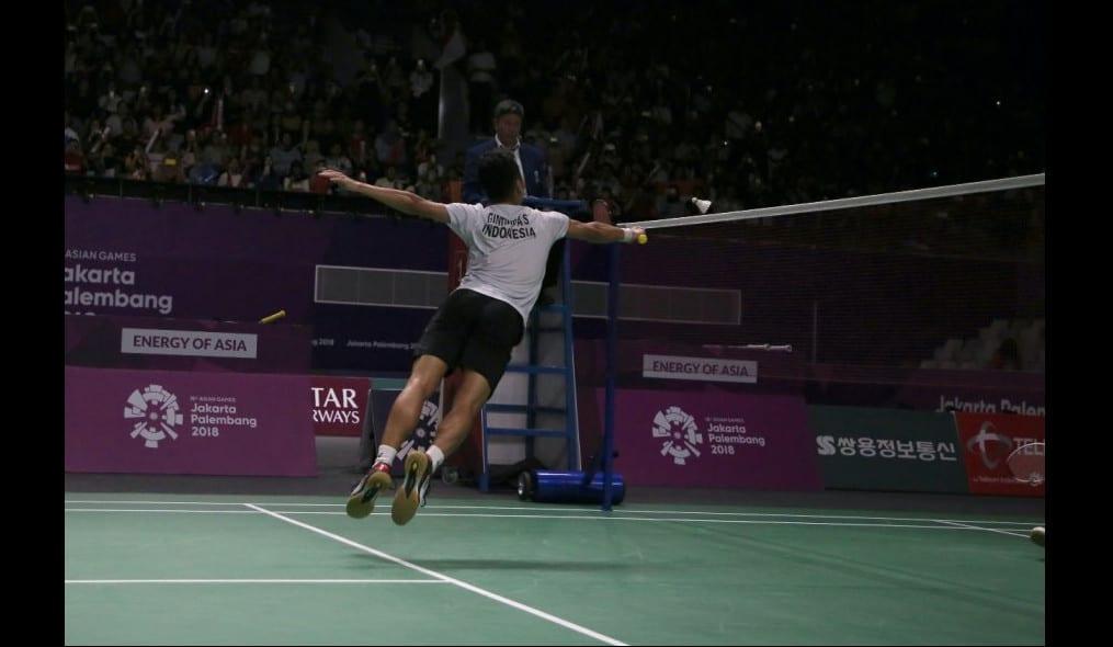 Professionel badmintonspelare