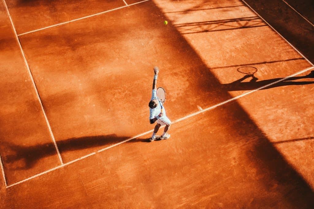 grusplan tennis