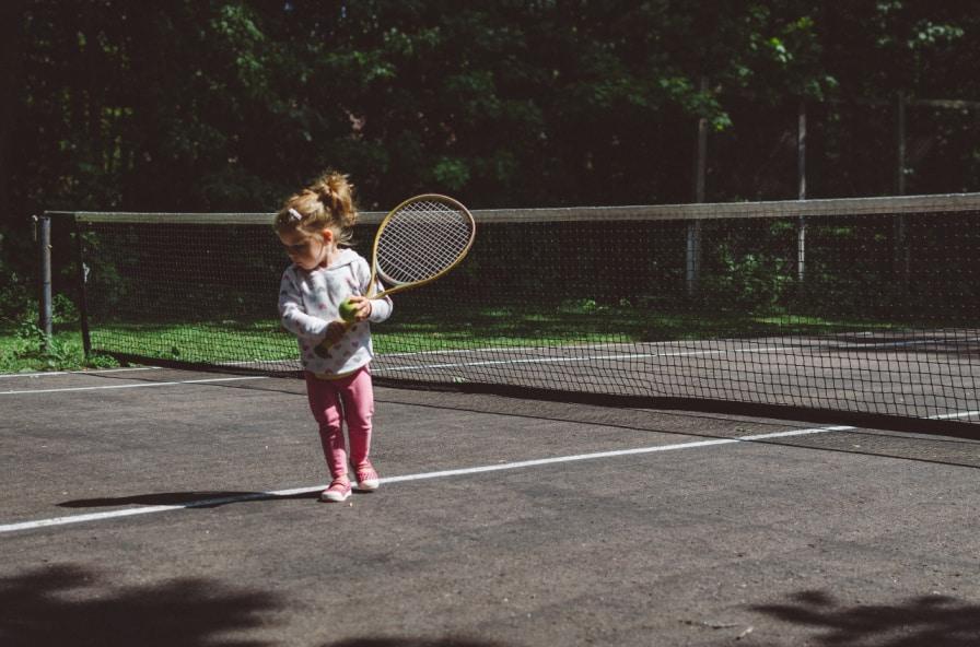 Tennisspelare Barn