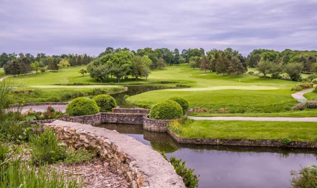 golfbana - avstånd