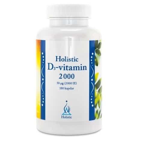 Holistic D3-vitamin 2000 IE